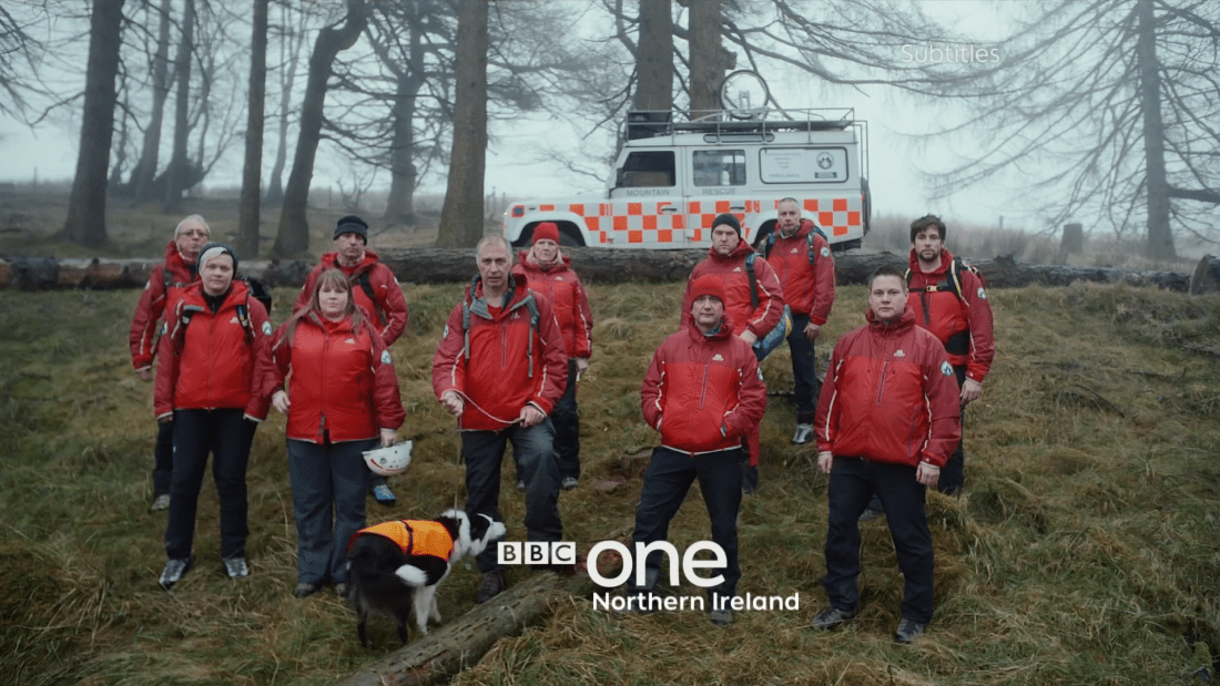 PICTURED: BBC One Northern Ireland ident.