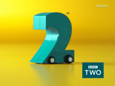 PICTURED: BBC Two ident - Car.