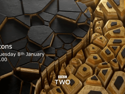 PICTURED: BBC Two promotion endboard.