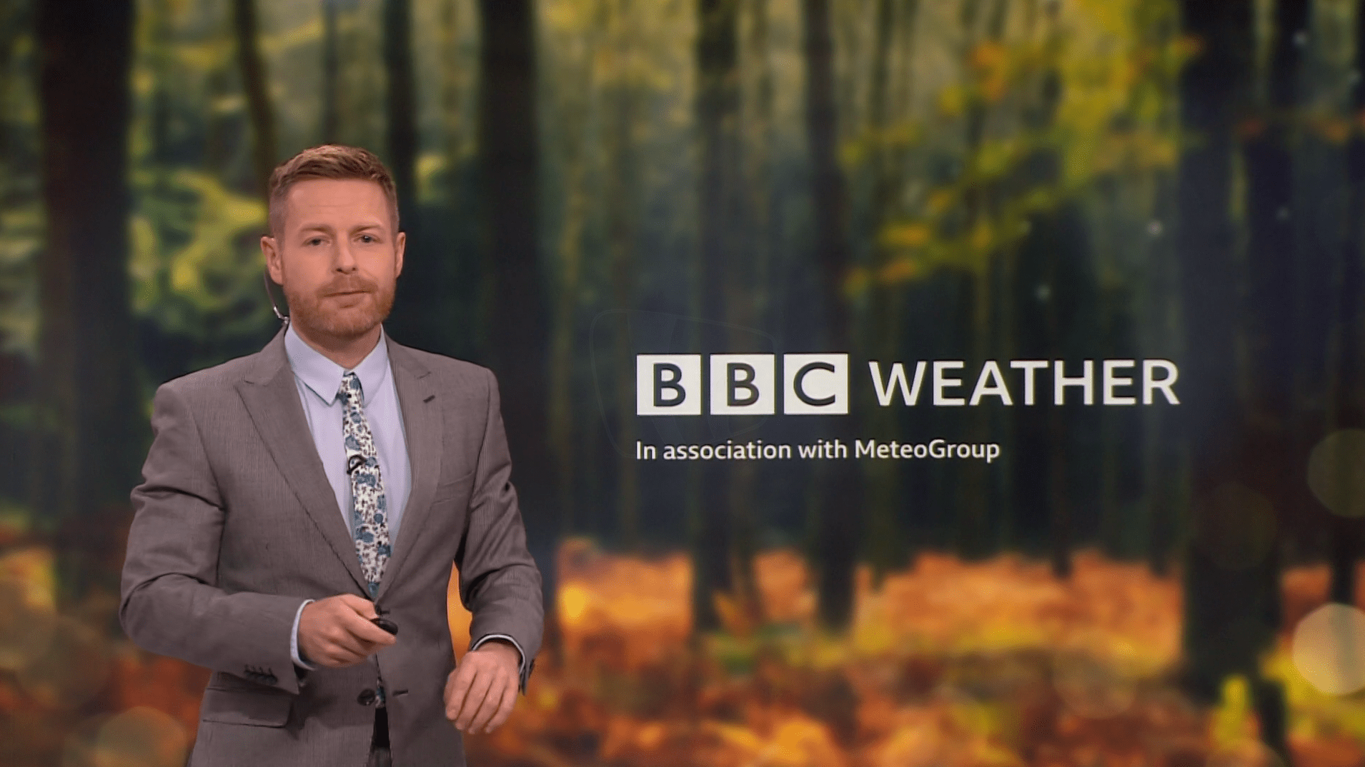 PICTURED: Tomasz Schafernaker.