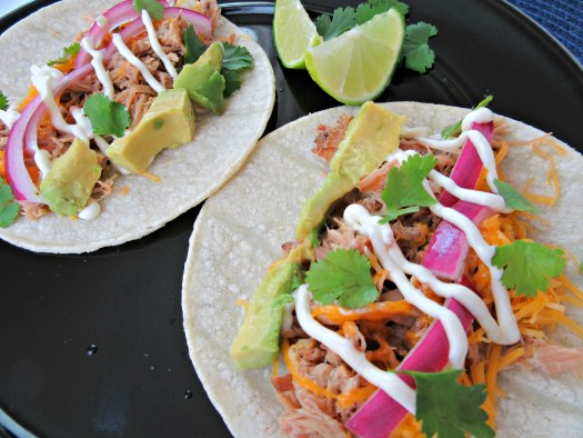 Slow Cooker Easy Pork Carnitas Tacos