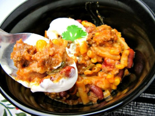 Instant Pot Tex-Mex Mac & Cheese Spoonful