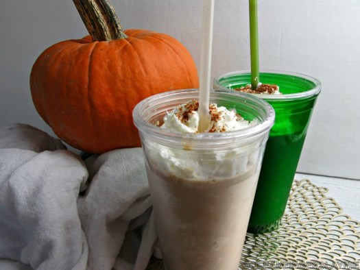 Healthy Pumpkin Spice Frappe - Horizontal