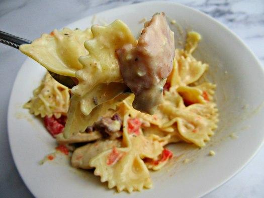 Carino's Chicken Bowtie Festival Copycat Bite