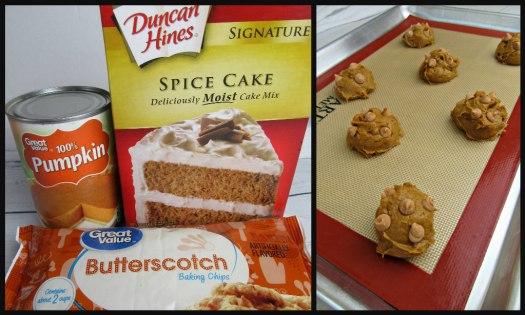 Pumpkin Butterscotch Chip Cookie Ingredients
