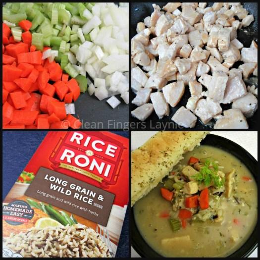 Copycat Panera Bread Chicken and Wild Rice Soup Ingredients