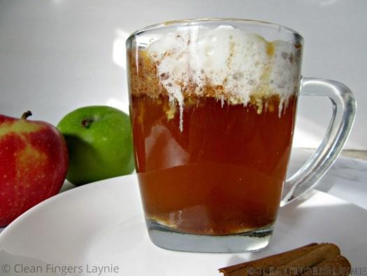 Copycat Starbucks Caramel Apple Spice Side View