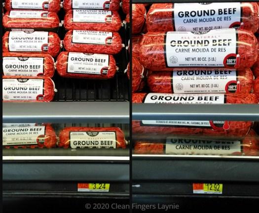 Ground Beef Price Comparison