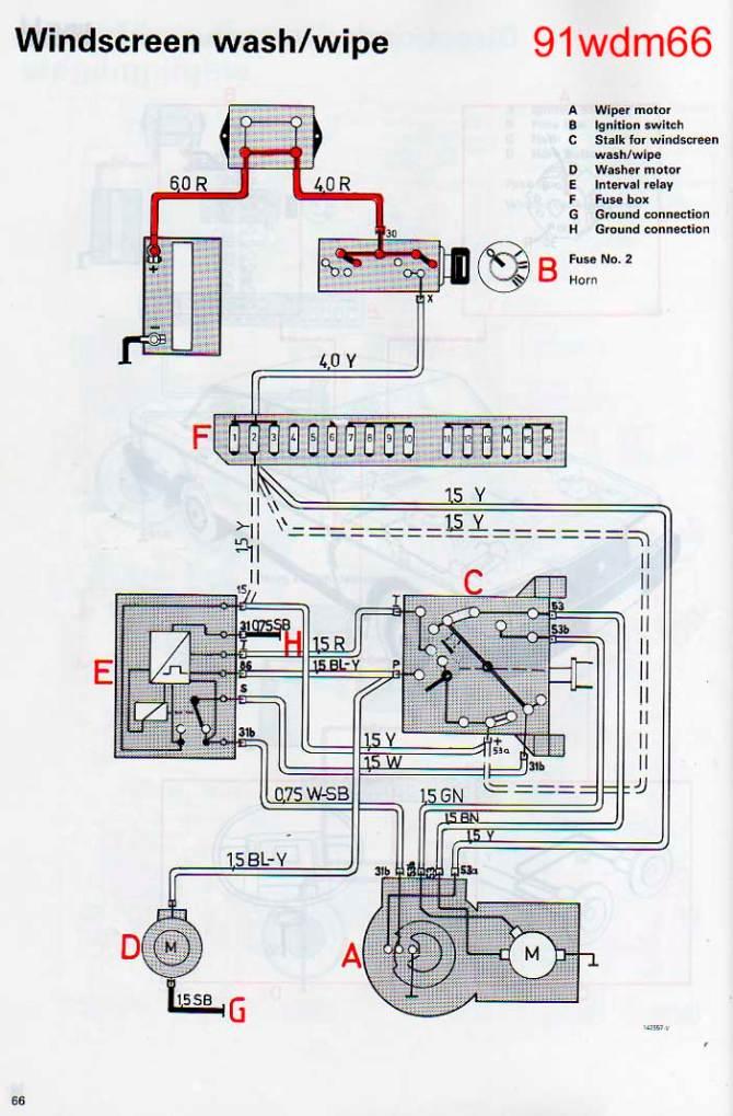 volvo 240 wiper wiring diagram  wiring diagram ground