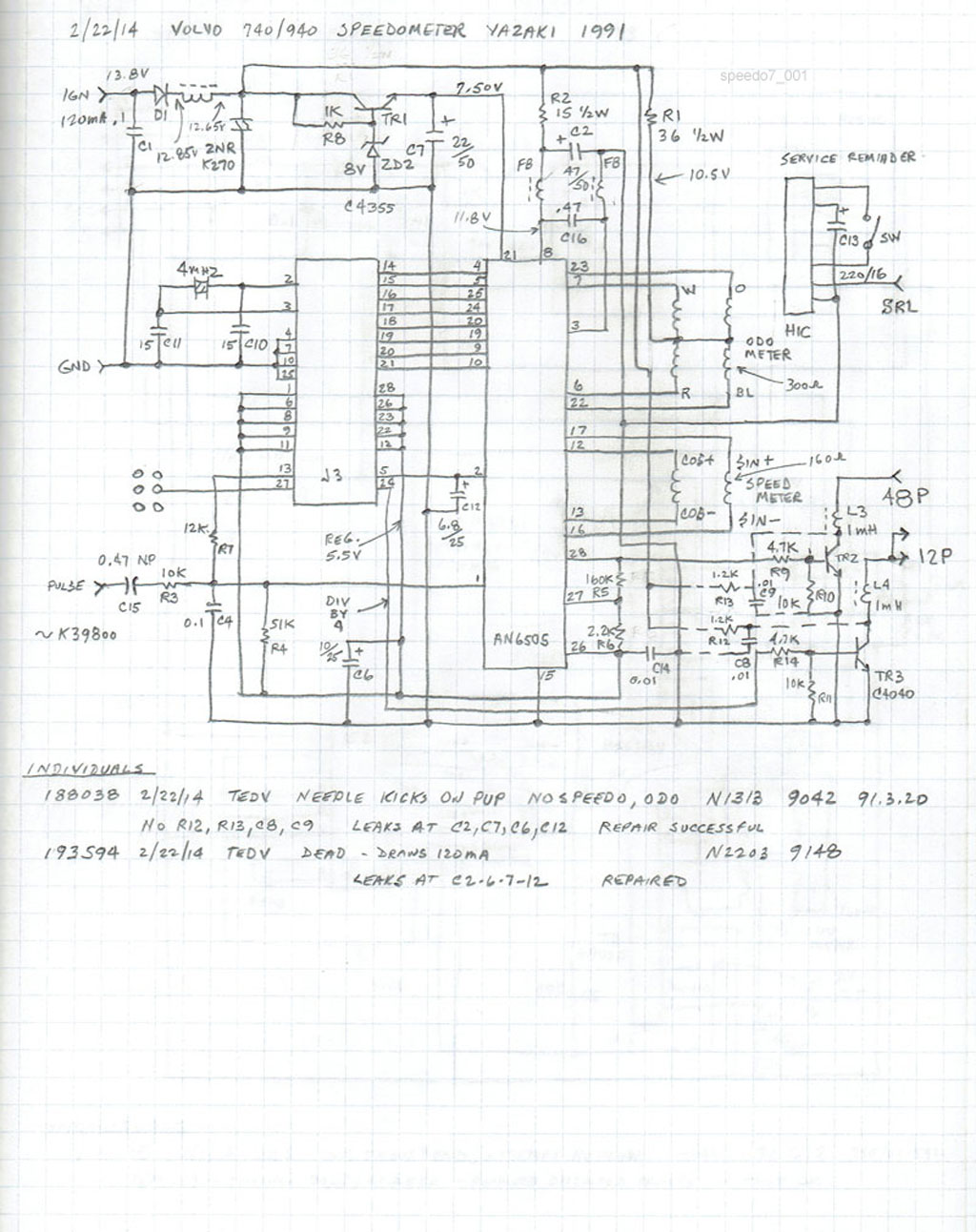 Yazaki Wire Harness Drawing