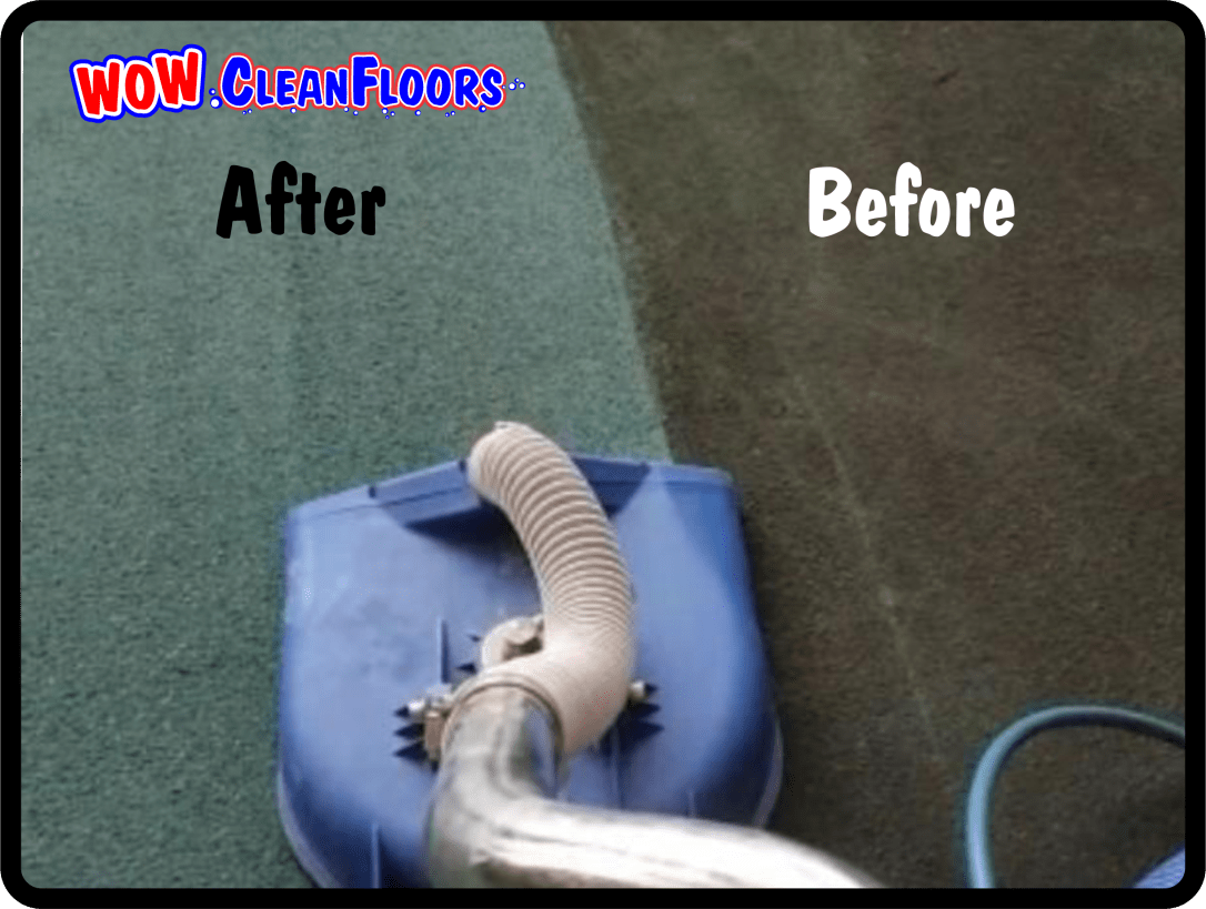 Single pass with SX15 Spinning Jet, High Pressure, High Heat, How Water Extraction. Client wanted to replace the carpets but now they do not because they now look like new.
