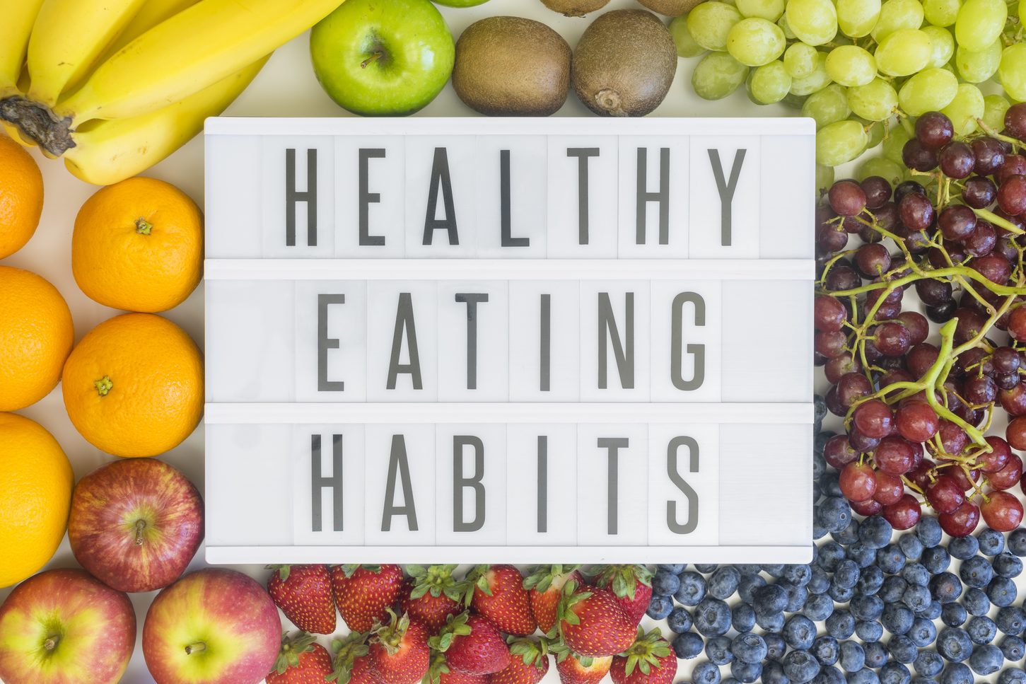 Healthy Habits That Keep The Extra Pounds Away
