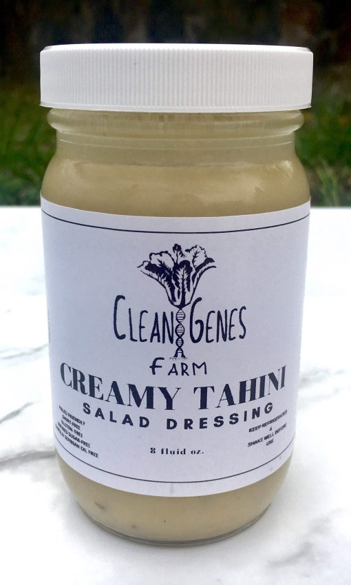 Clean Genes Farm Creamy Tahini Dressing