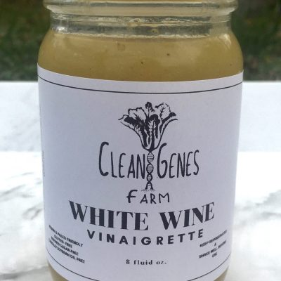 Clean Genes Farm White Wine Vinaigrette