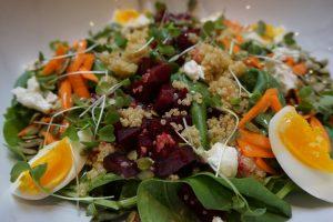 Clean Genes Farm Beet Salad