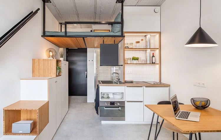 how to clean small apartment