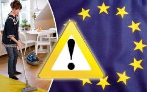 eu ruling affects upright vacuums