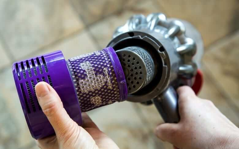filter check in dyson