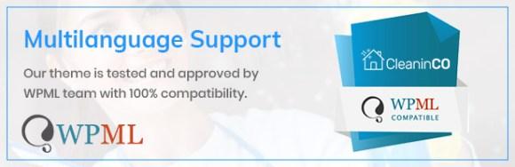 CleaninCO Theme WPML Compatible