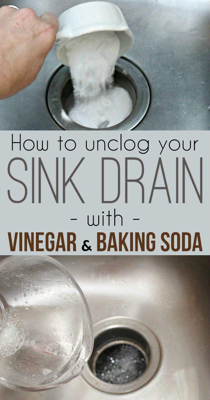 Image Result For How To Unclog A Bathroom Sink With Baking Soda