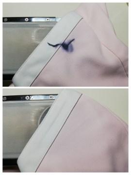 白衣 についた ボールペン ・ インク の染み も 下町、東京都江東区亀戸の会員制クリーニングベレーナ