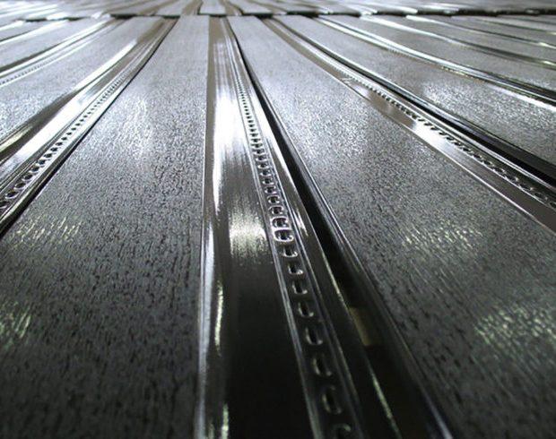 groene gevel beplating voorzien van nano coating