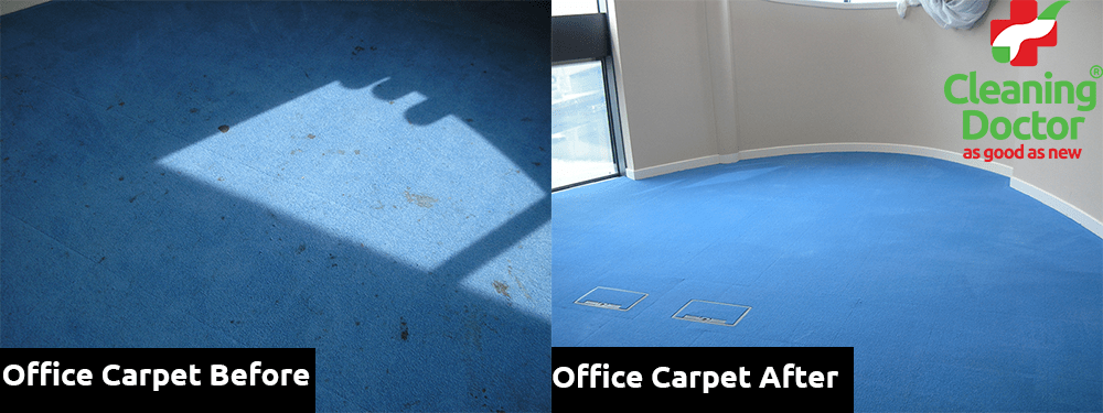 Office Carpet Before + After