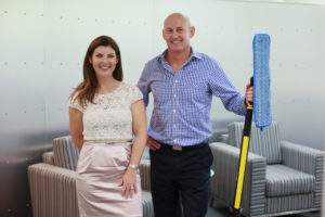 Lisa & Hamish Macqueen, Owners of Cleancorp