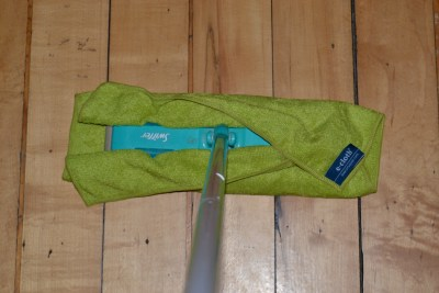 ecloth General Purpose washable microfiber cloth fits on Swiffer - for wet mopping