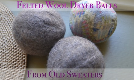 How To Make Wool Dryer Balls from Old Sweaters – A Whole Set for $1 and NO Waste!