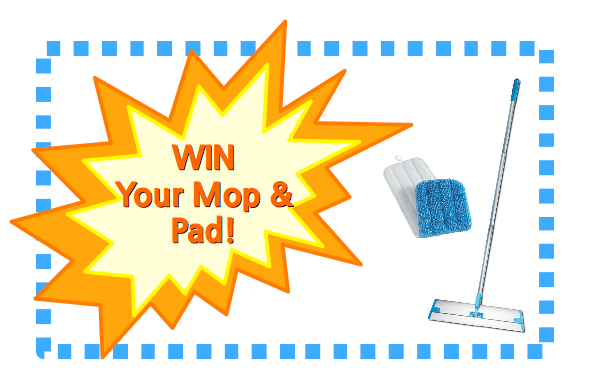 win your ecloth mop