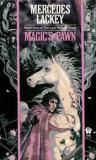 "<span class=""item""><span class=""fn title-book"">MAGIC'S PAWN</span><span class=""title-author""> by Mercedes Lackey</span></span>"