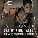 "<span class=""item""><span class=""fn title-book"">CAT O' NINE TALES</span><span class=""title-author""> by Faith Hunter</span></span>"
