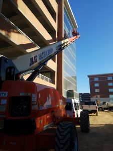 Complete construction cleaning on 7 story medical building in Lexington/Columbia, SC.
