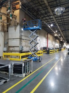 Industrial Shut-Down Facility Cleaning & Overhead Cleaning