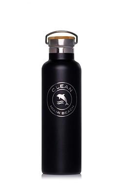 Water bottle small black