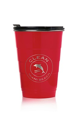 red tumbler small