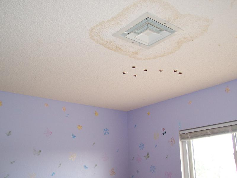 How To Get Rid Of Water Stains On Plaster Ceiling Www