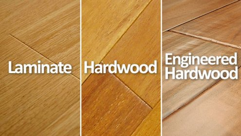 Hardwood vs Laminate vs Engineered Hardwood Floors   What s the     Hardwood vs Laminate vs Engineered Hardwood Floors   What s the Difference     Clean My Space