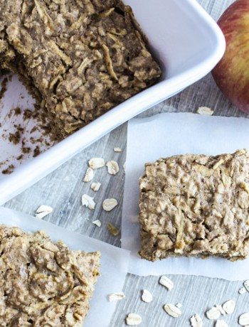 Apple Almond Breakfast Bars