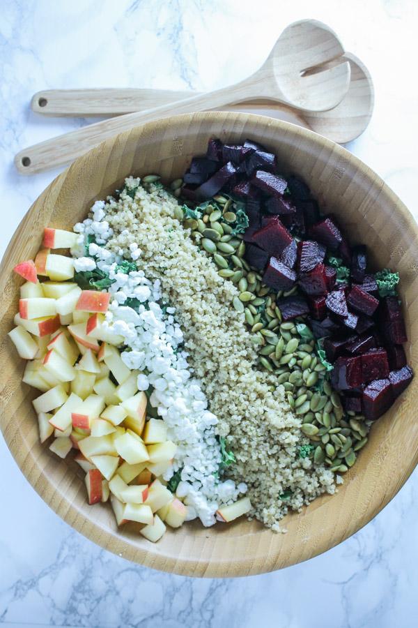 Apple and Beet Salad