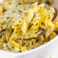 Gluten-free Baked Butternut Squash Mac & Cheese