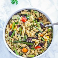 Gluten-free Grilled Vegetable Pasta Salad