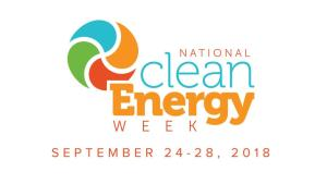National Clean Energy Week in Washington, DC from Sept. 24-28, 2018