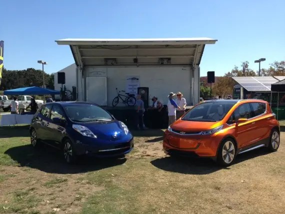 Nissan LEAF vs Chevy Bolt