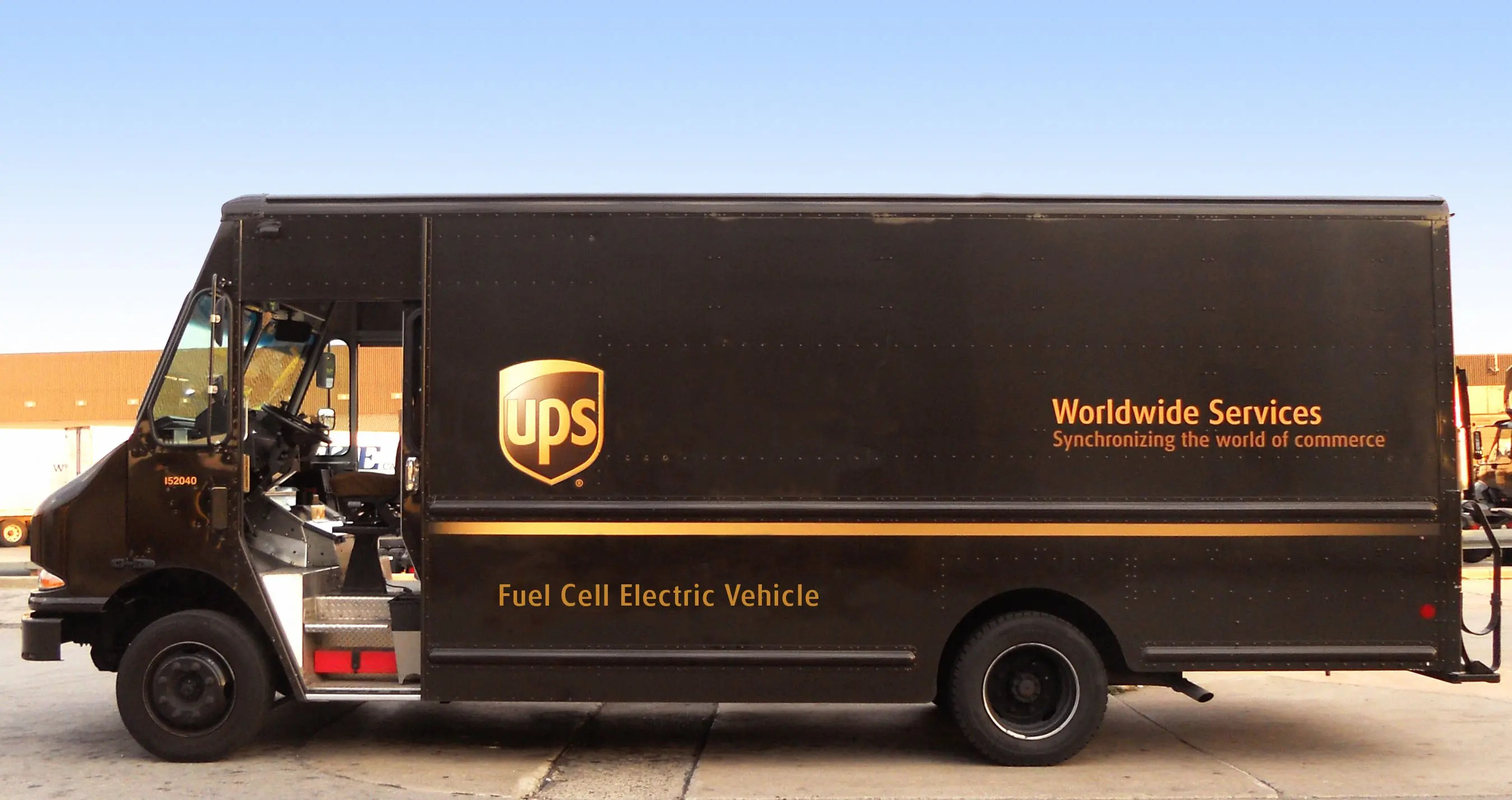 Ups Delivery UPS Will Deploy Its Fi...