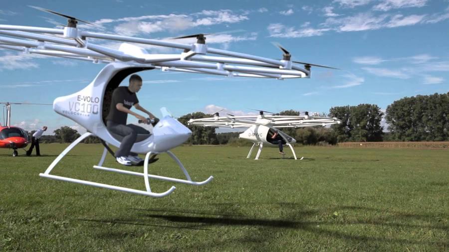 Volocopter UAM eVTOL News