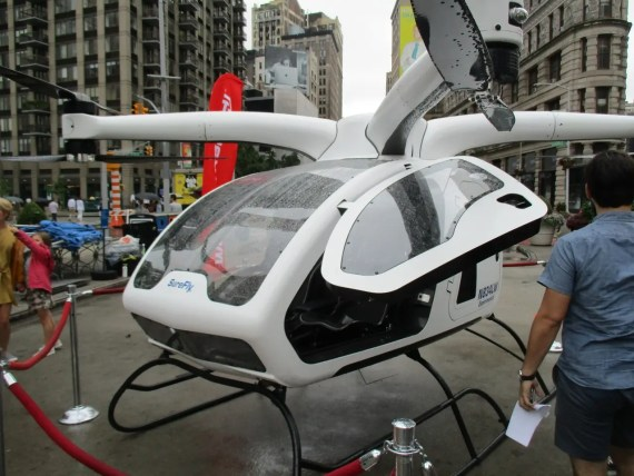 SureFly heilicopter