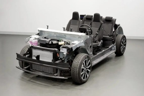 Volkswagen MEB rolling chassis