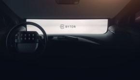 Byton K-Byte Interior Sneak Peek